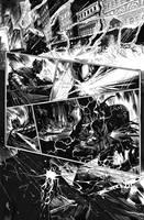 Batman vs Predator Pg 3 by Sigint