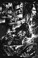 Batman vs Predator Pg 1 by Sigint