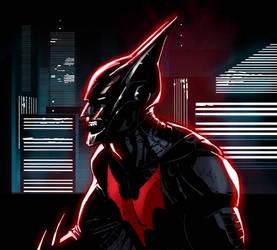 Batman Beyond 2008 Colored