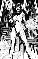 Ghost in the Shell BW