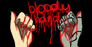 Bloody hand by mangastyle1234