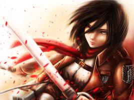 Mikasa Ackerman by cold-nostalgia