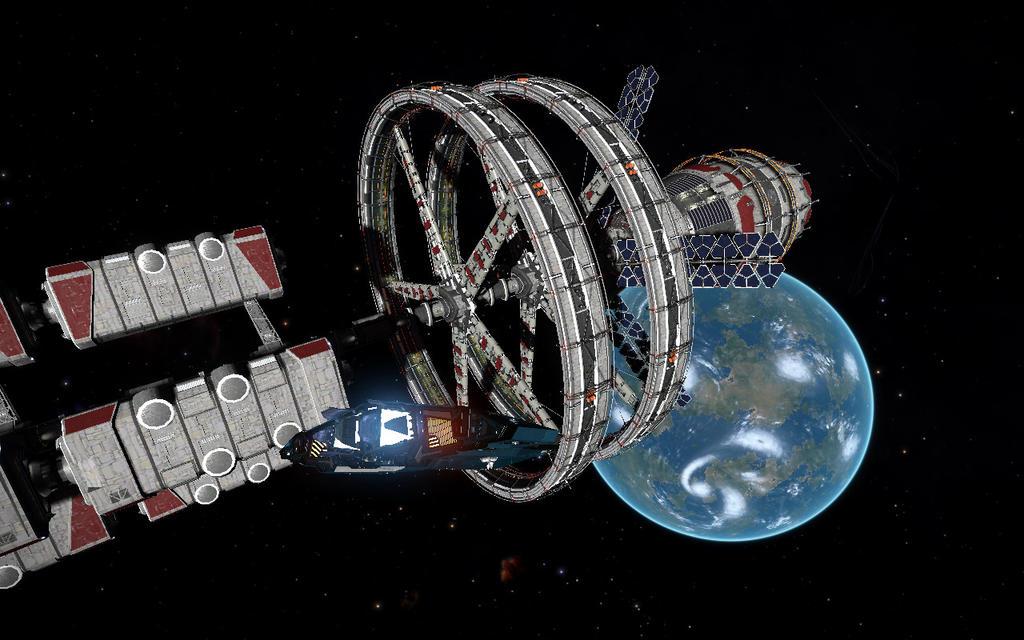 blue world orbit by eyemageone