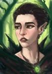 Druid Elf Portrait