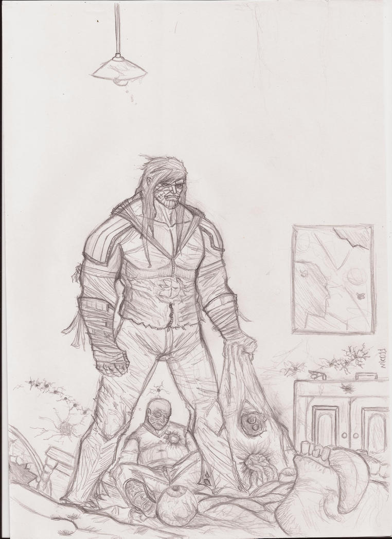 the legend of  luther strode by nic011