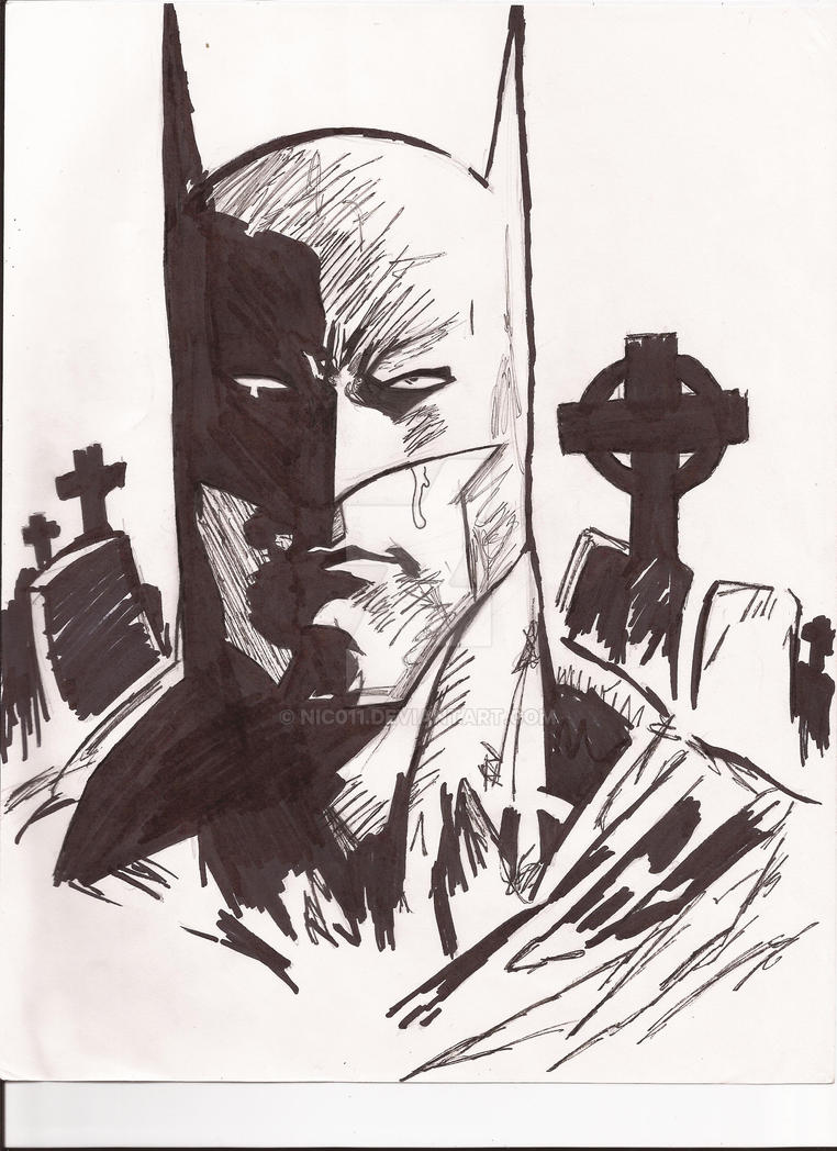 Batman Old Wounds by nic011