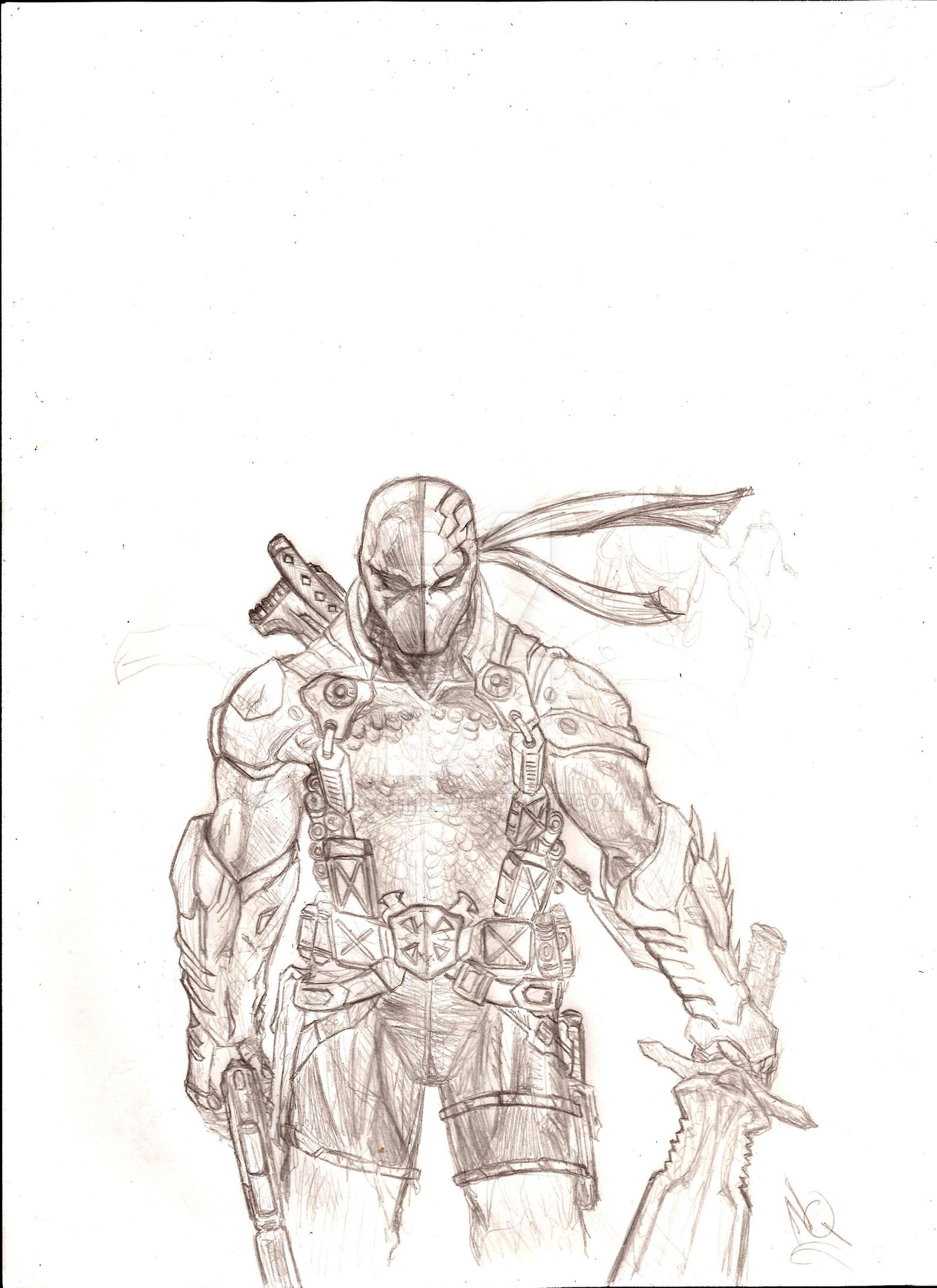 Deathstroke new 52 by nic011