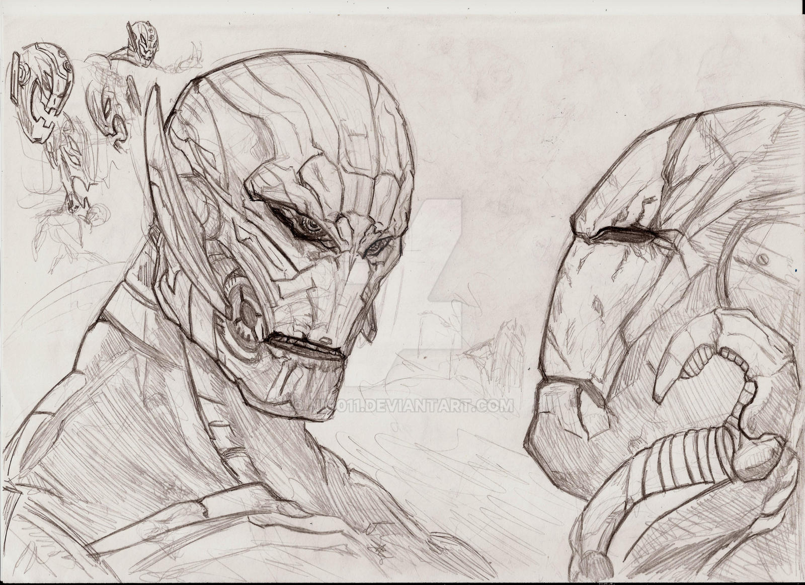 ultron there are no strings  on me by nic011