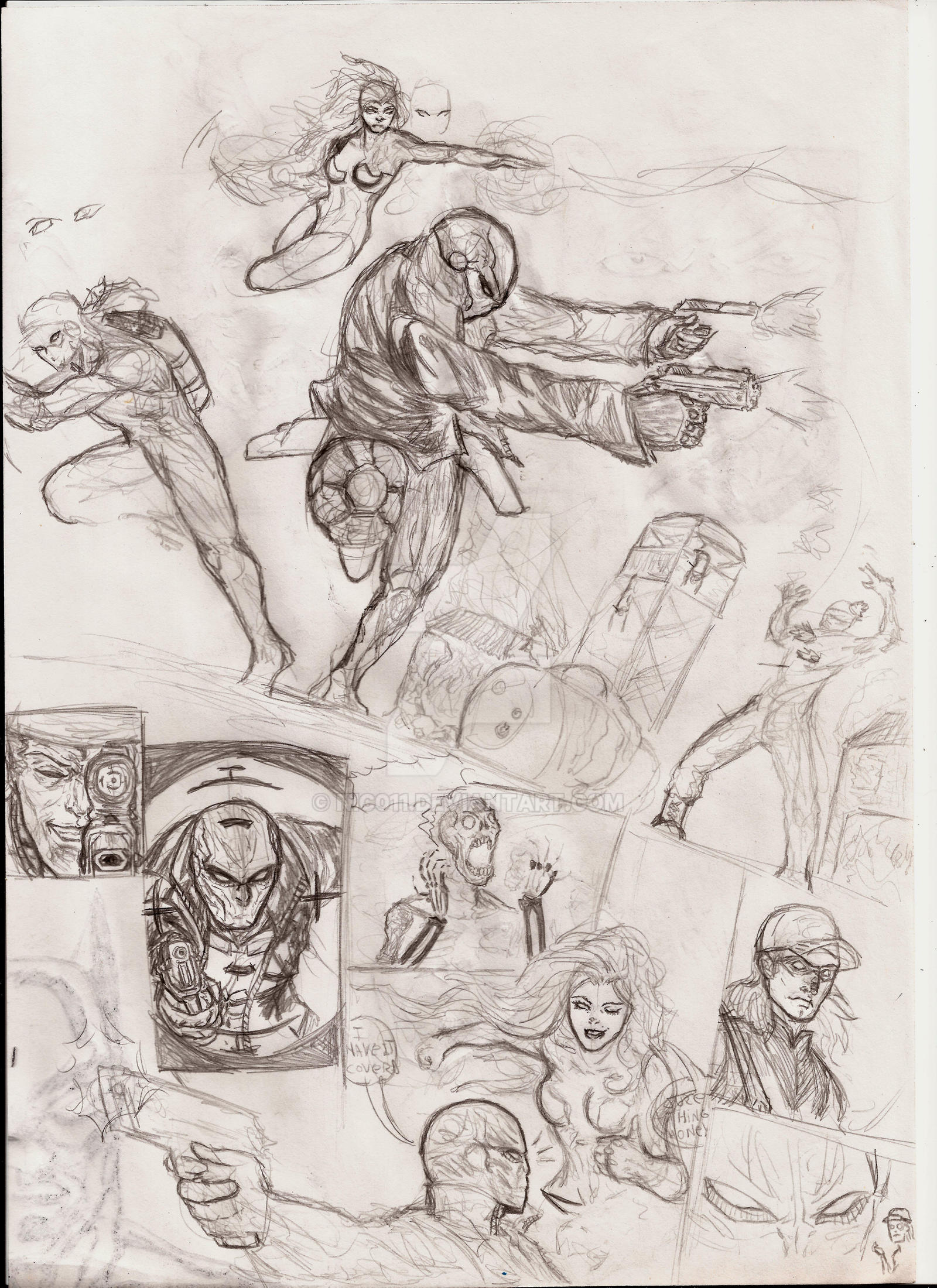 redhood and the Outlaws ranmdome comic page by nic011