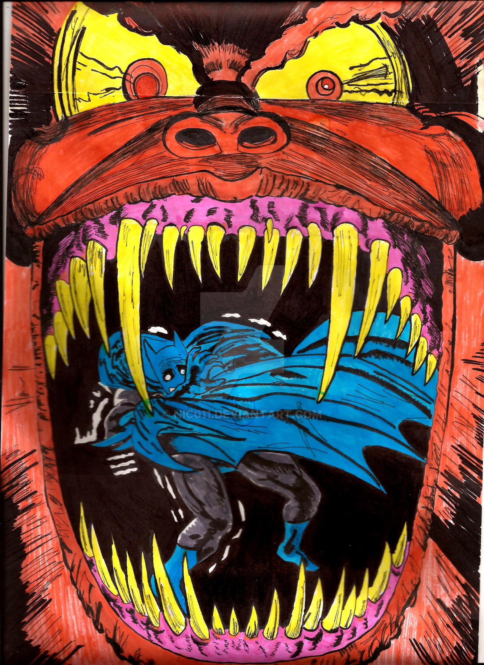 Batman  full color! by nic011