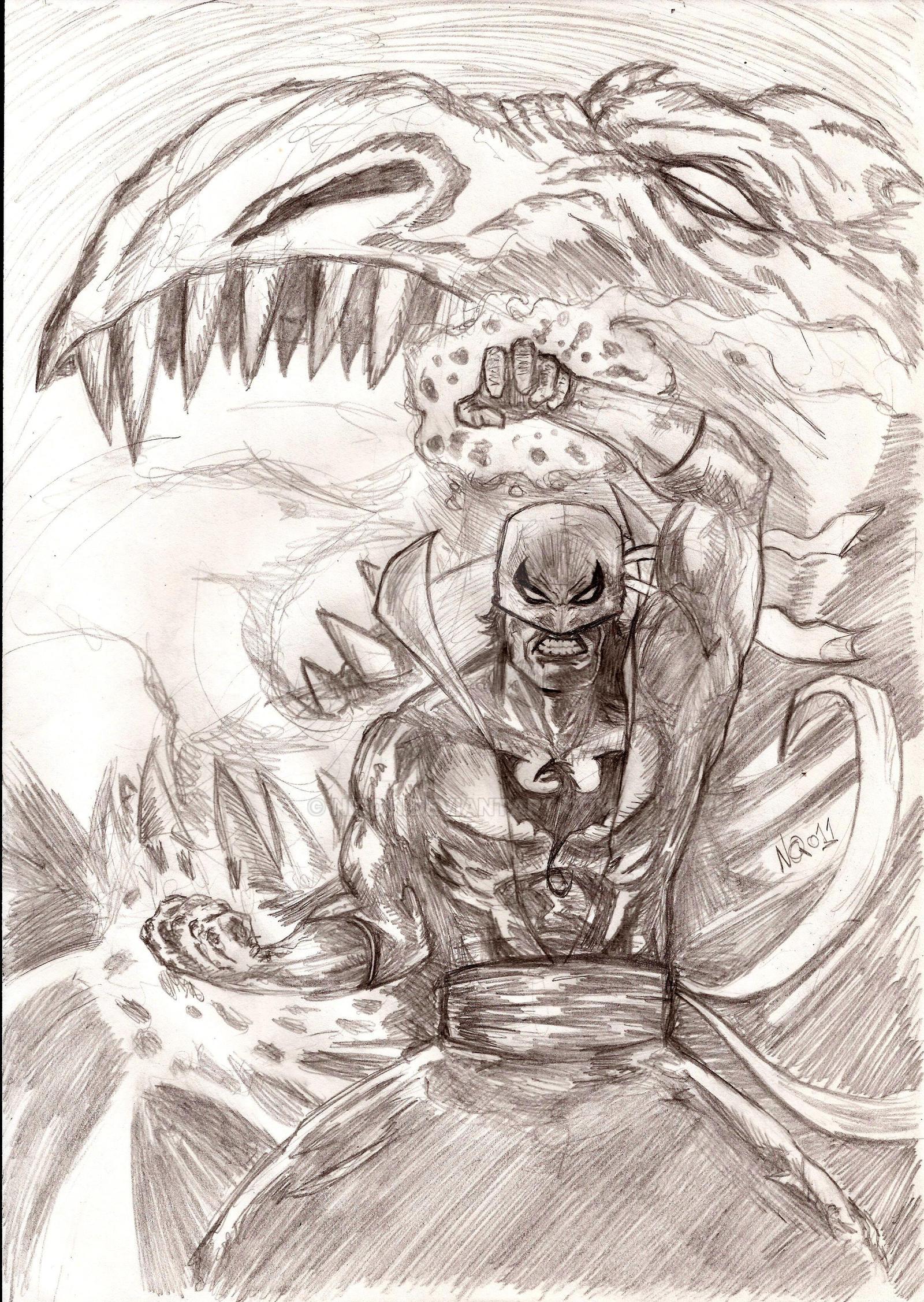 The Inmmortal Iron Fist by nic011