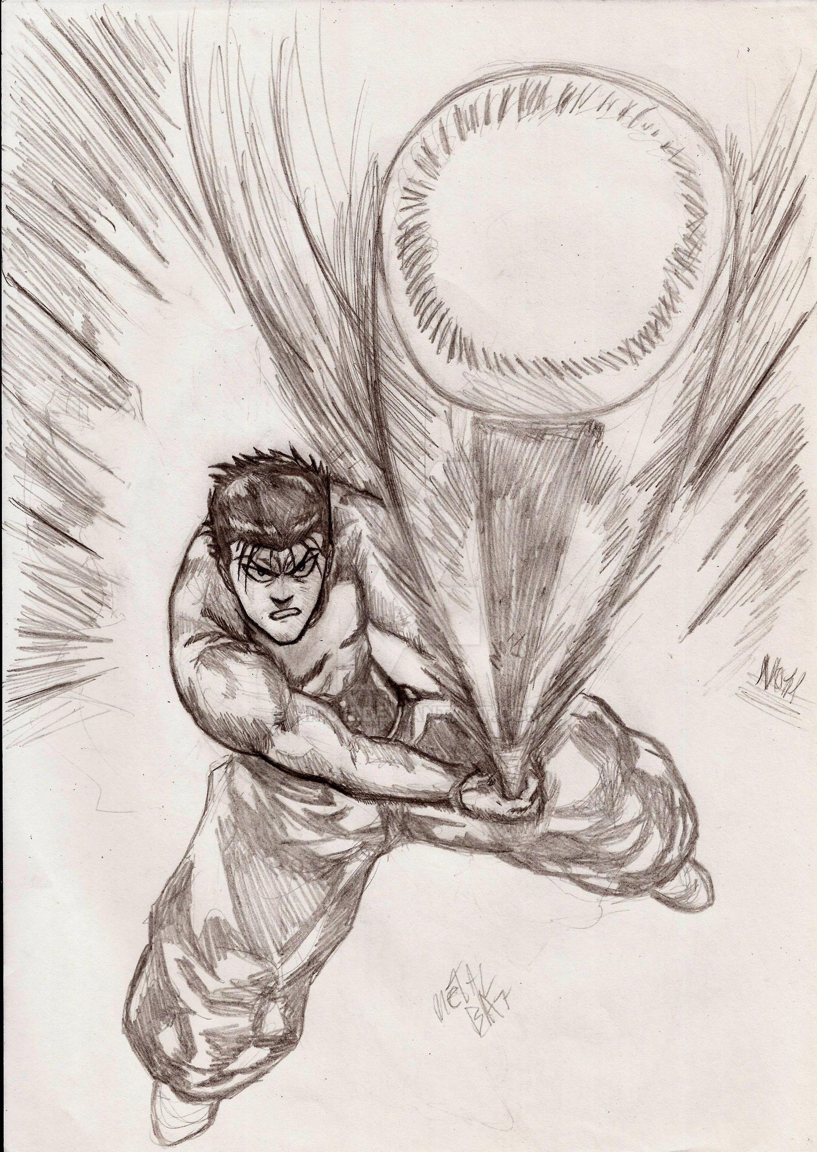 Metal bat by nic011