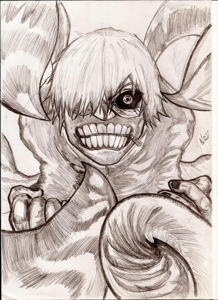 Kaneki tokyo ghoul by nic011
