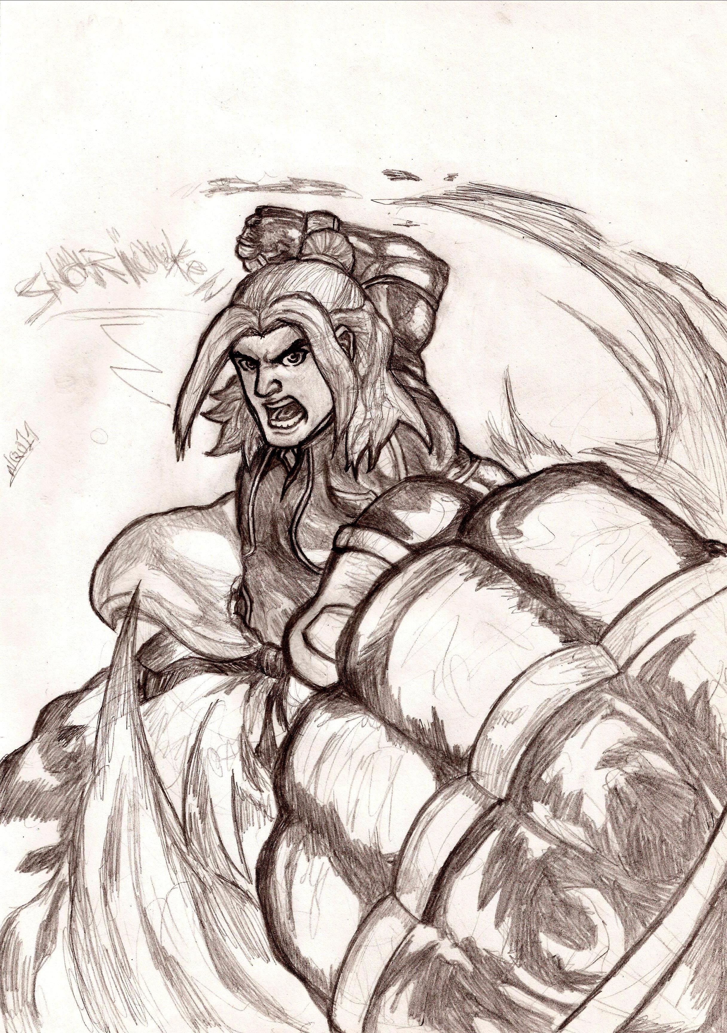Ken Shoryuken!! by nic011