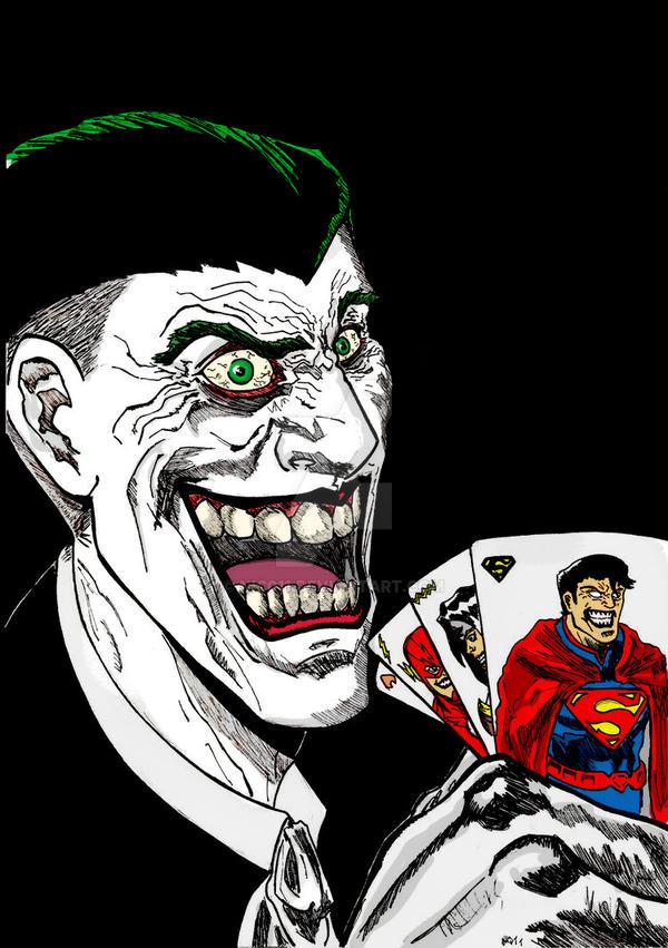 Joker  full color by nic011