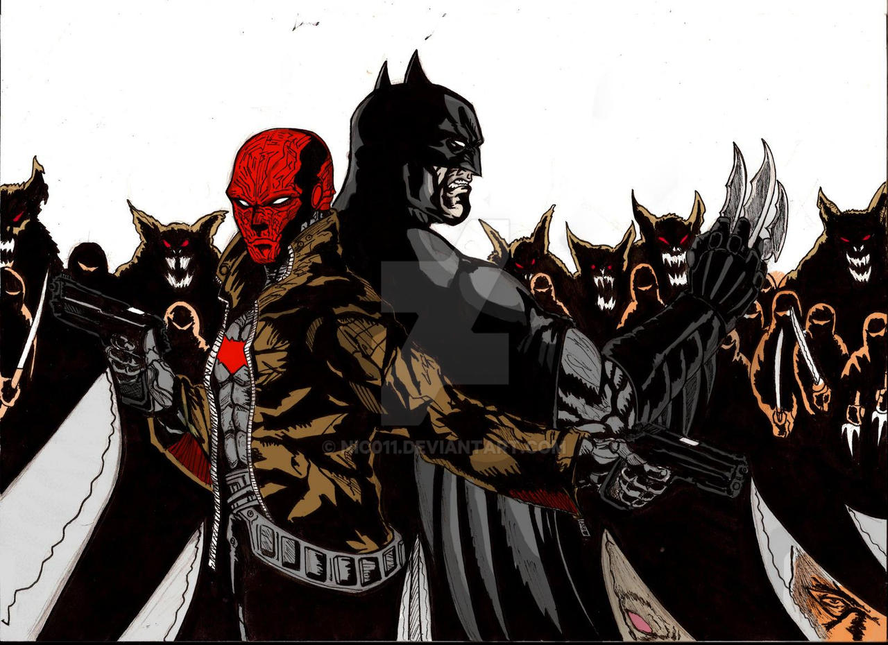 batman vs red hood - photo #21