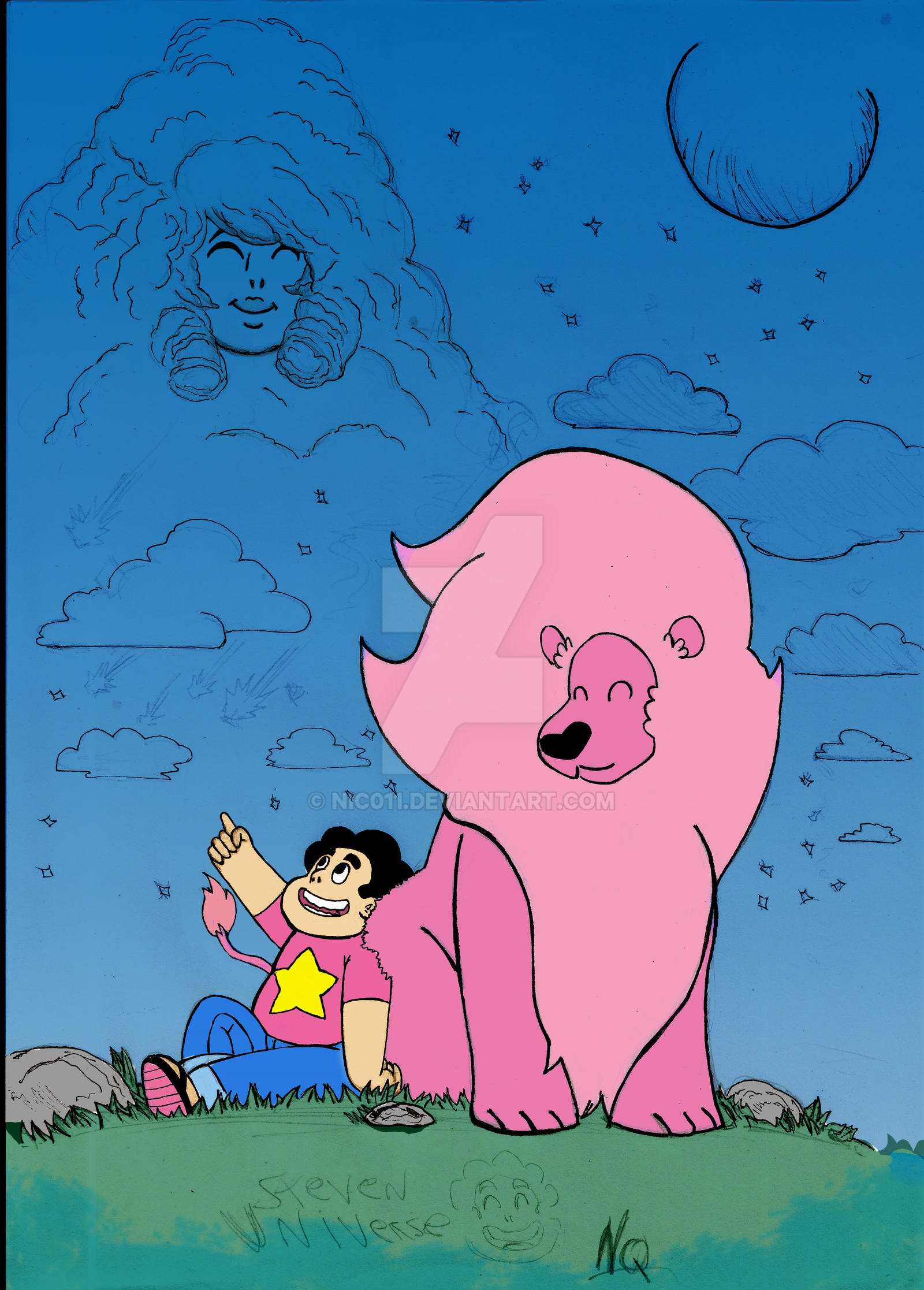 Steven Universe colored by nic011