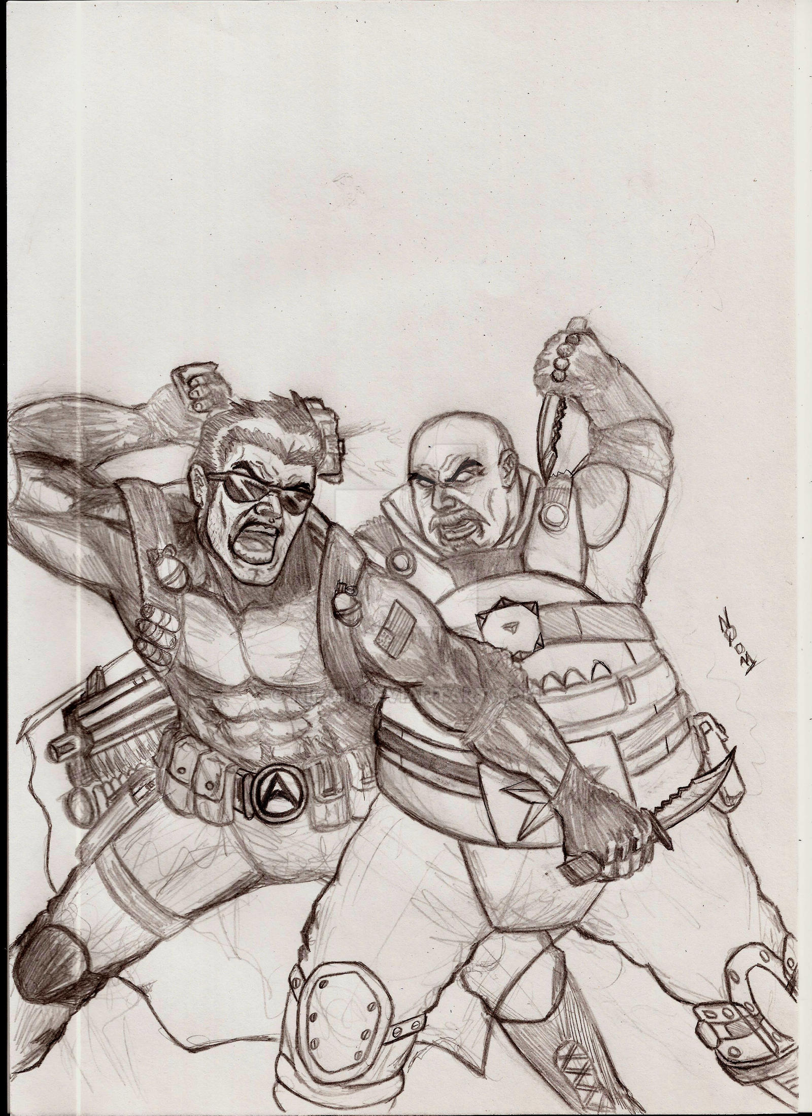 action man vs blitz by nic011