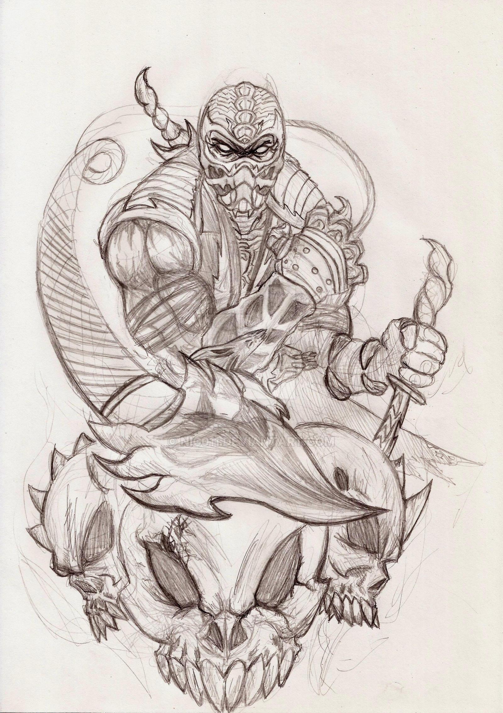 Scorpion MortalKombat by nic011