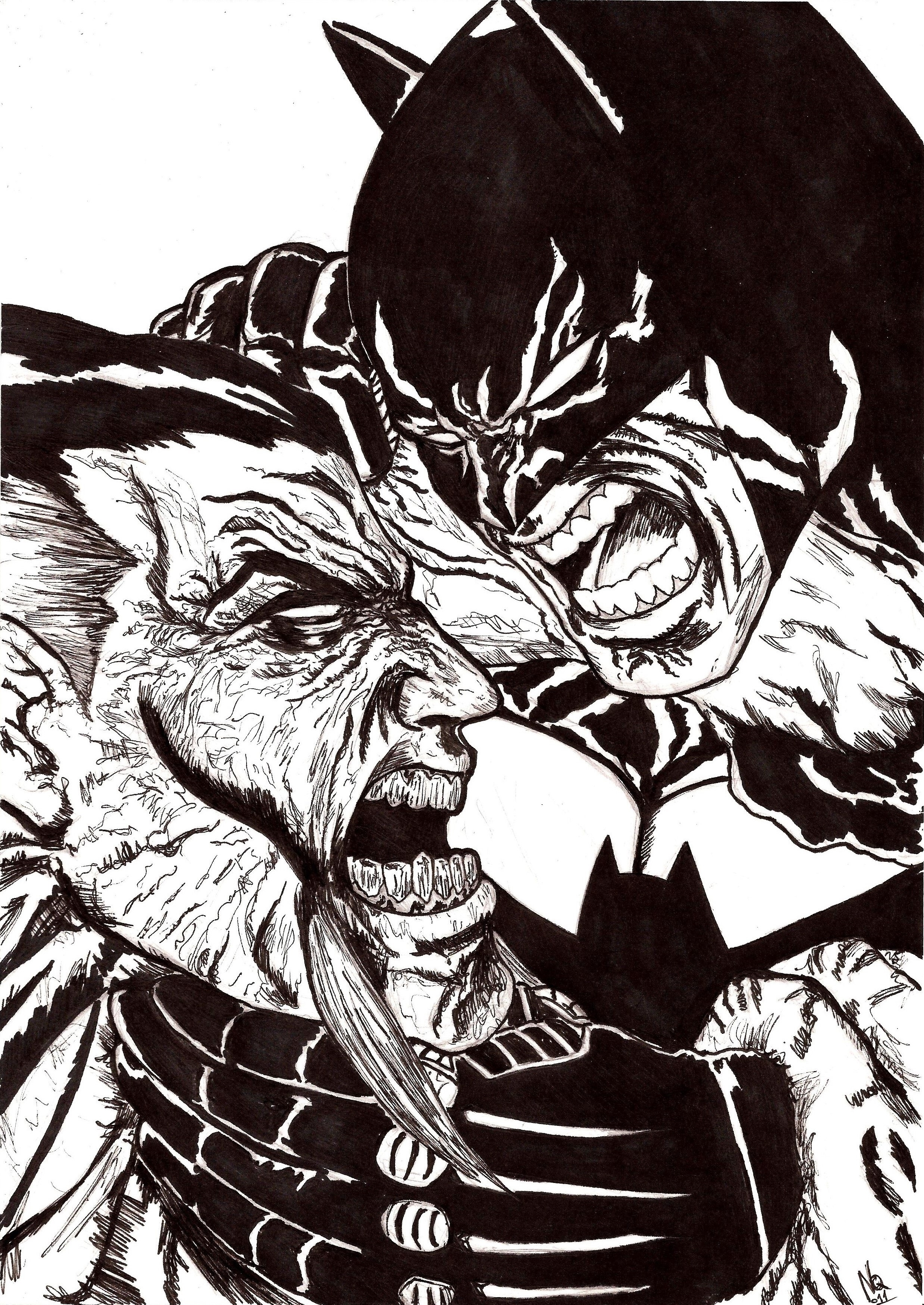 Batman  Rash Al Ghul by nic011