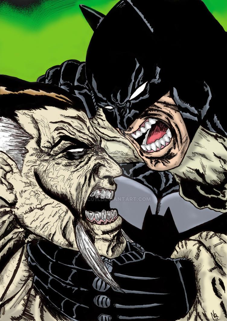 Batman  Rash Al Ghul Colored by nic011