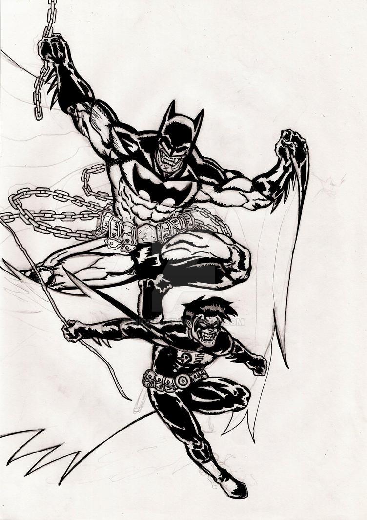 Batzarro nibor ink!! by nic011