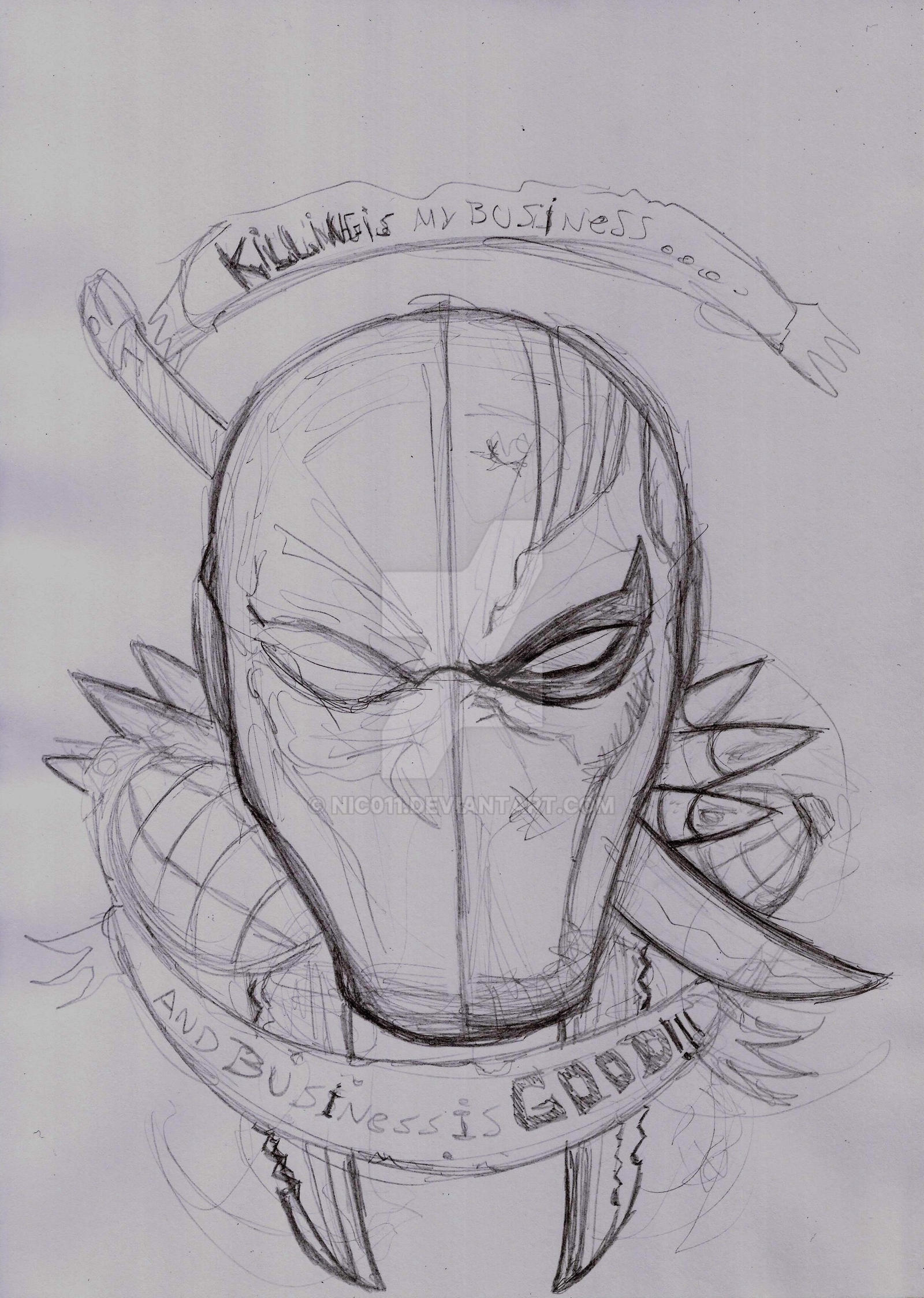 Killing Is My Business by nic011
