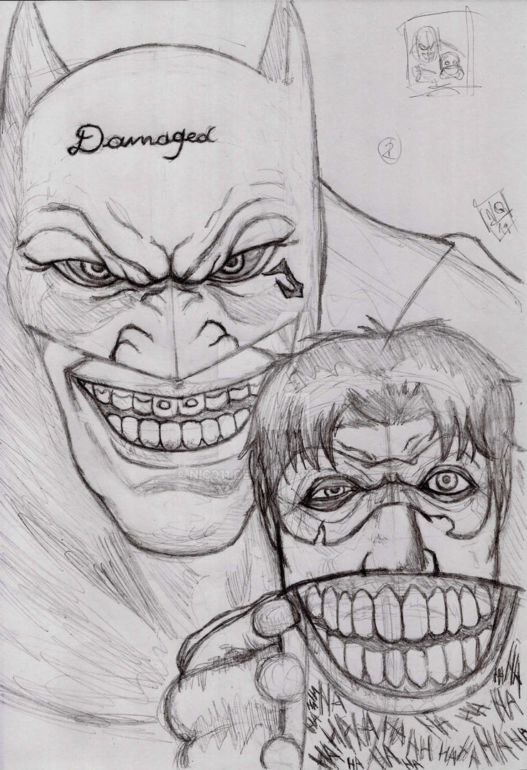 batman Impostor pencill by nic011