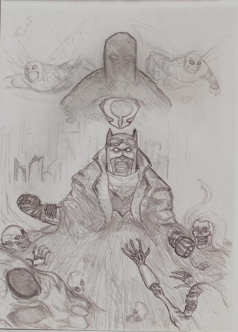 Batman Nightmare by nic011