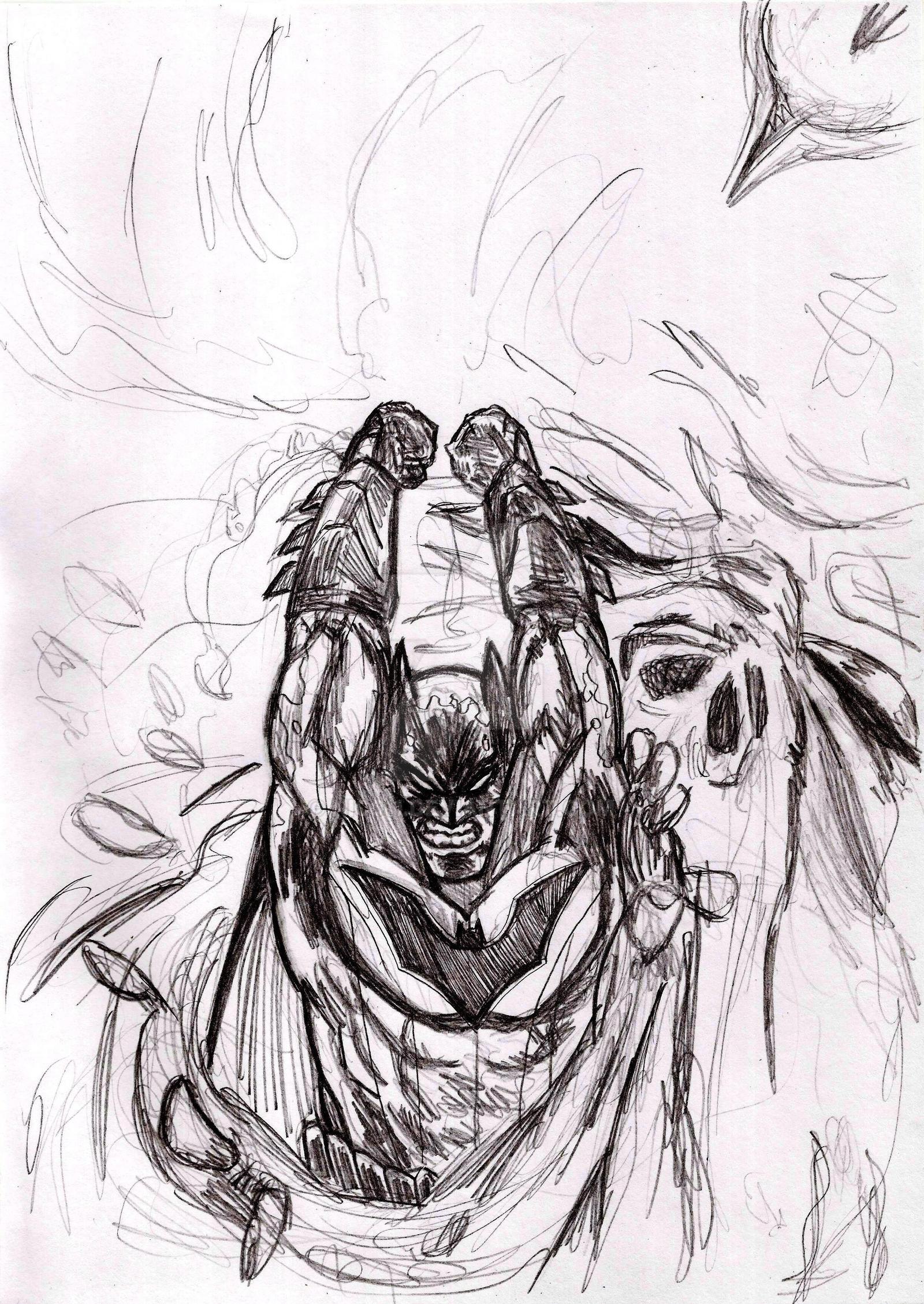 Batman Night Of The Monster Men by nic011