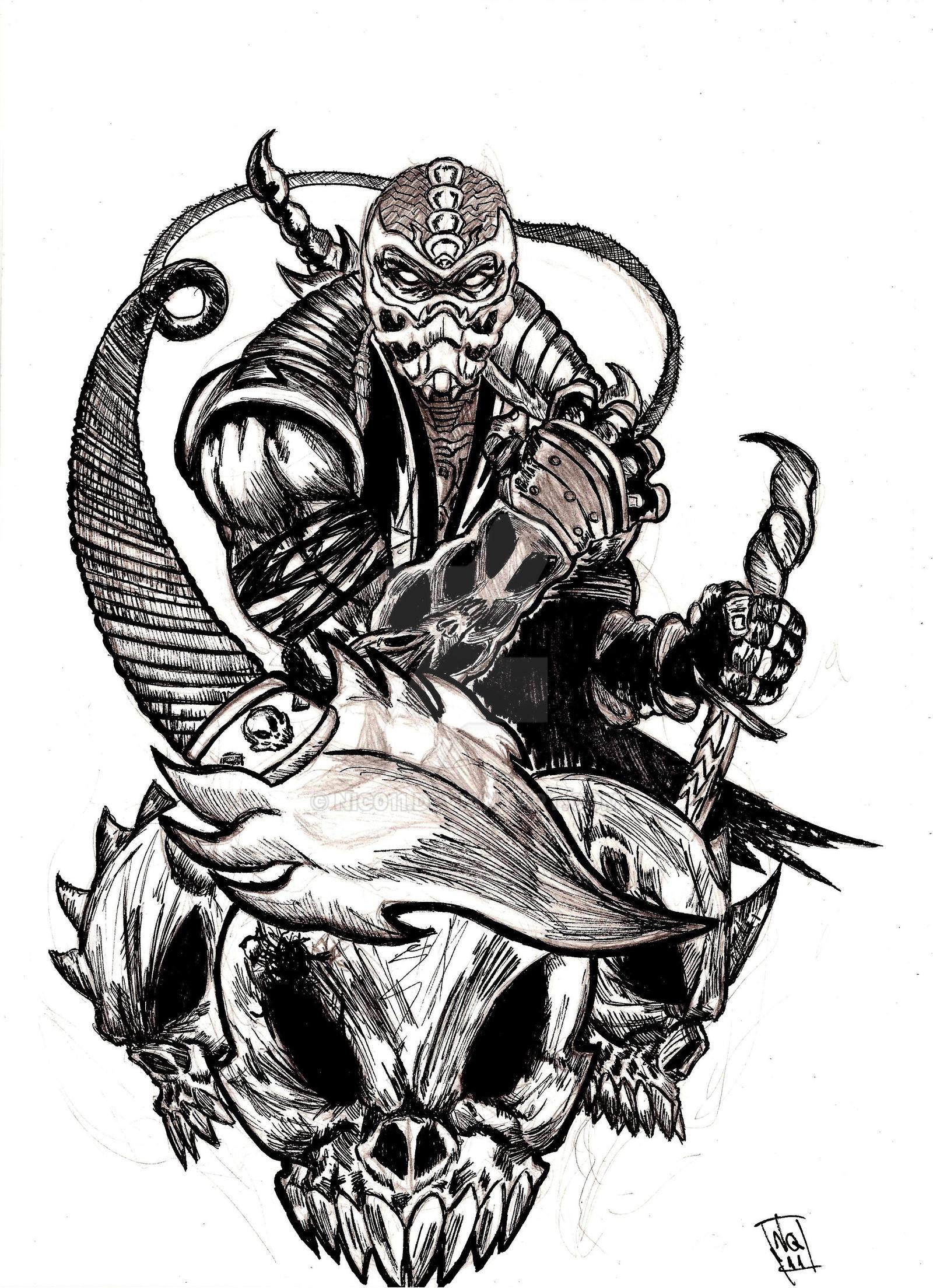 Scorpion MK by nic011