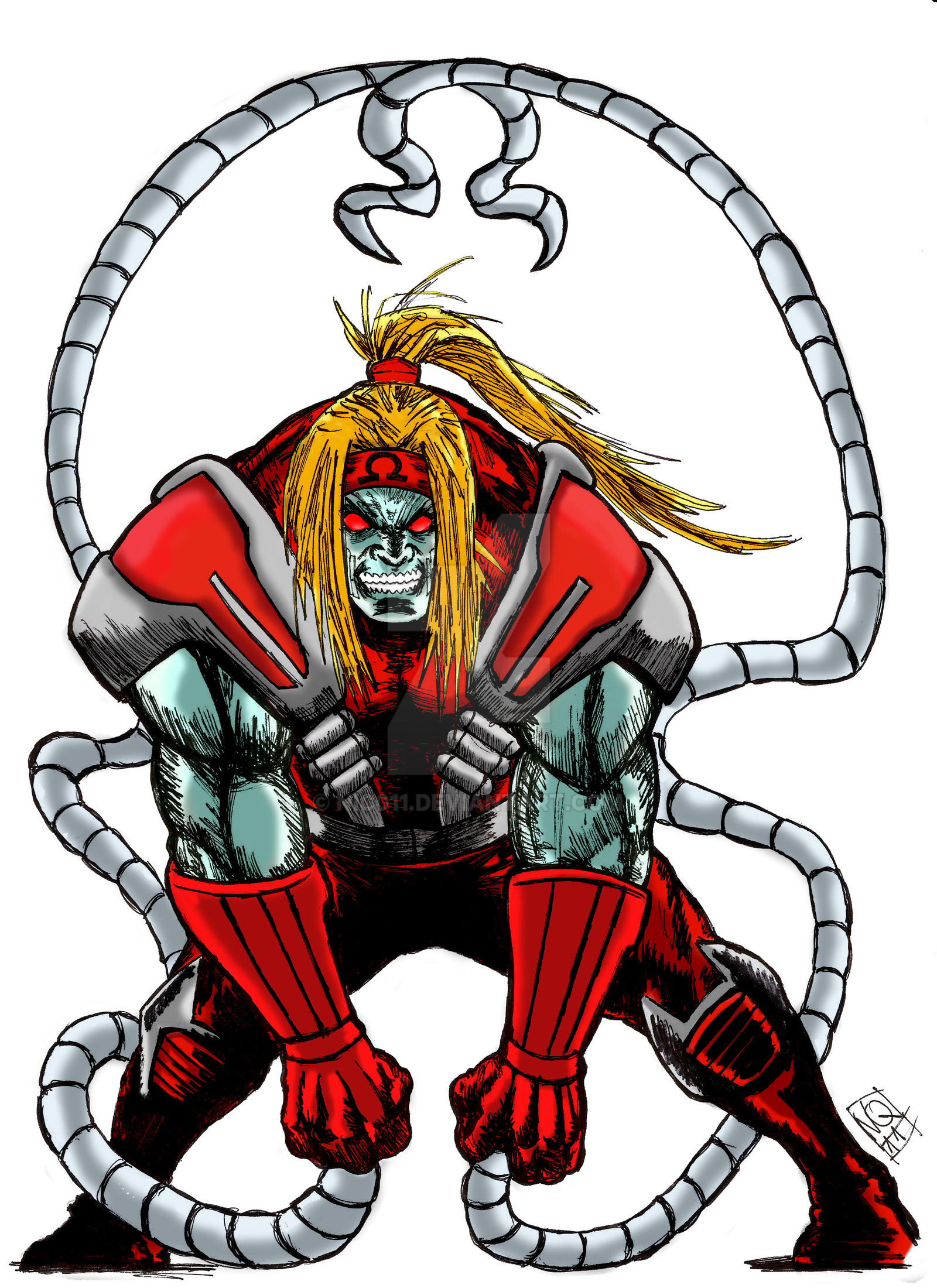 Omega red color by nic011