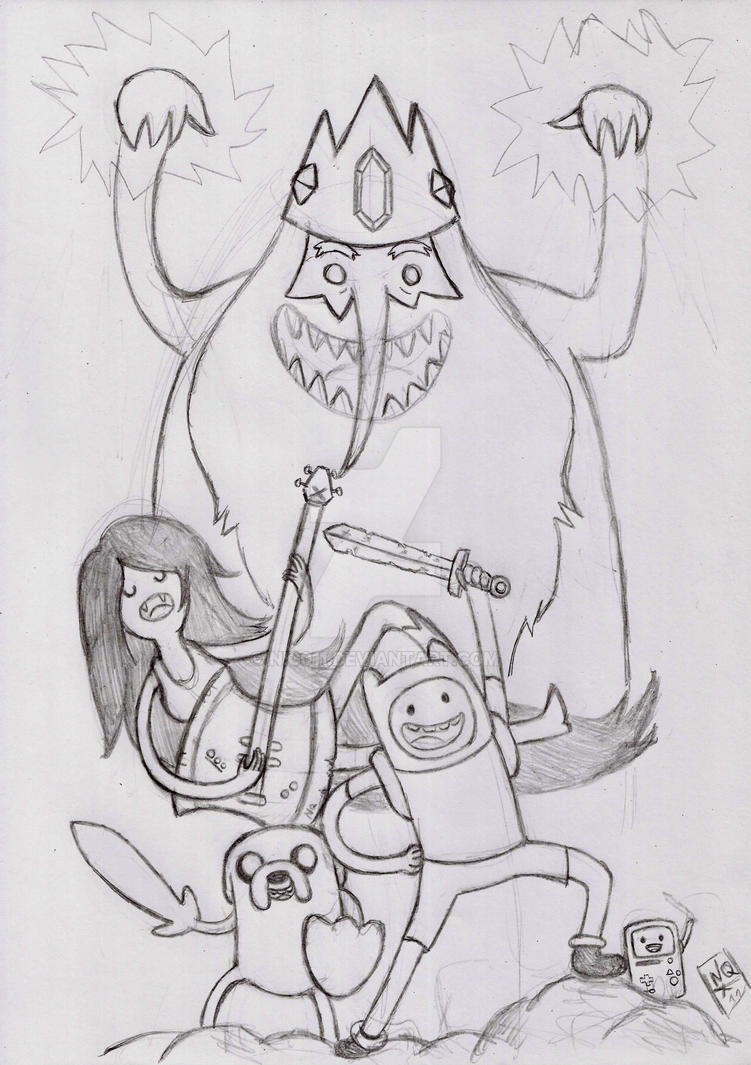 Adventure Time by nic011