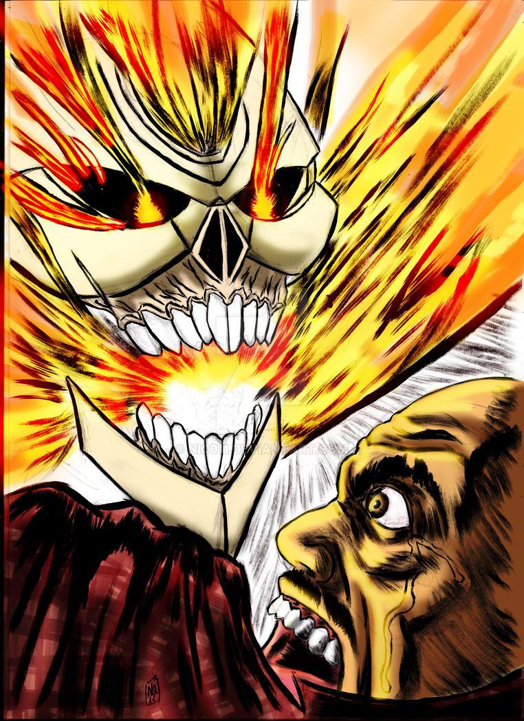 Ghost Rider Robbie Reyes by nic011