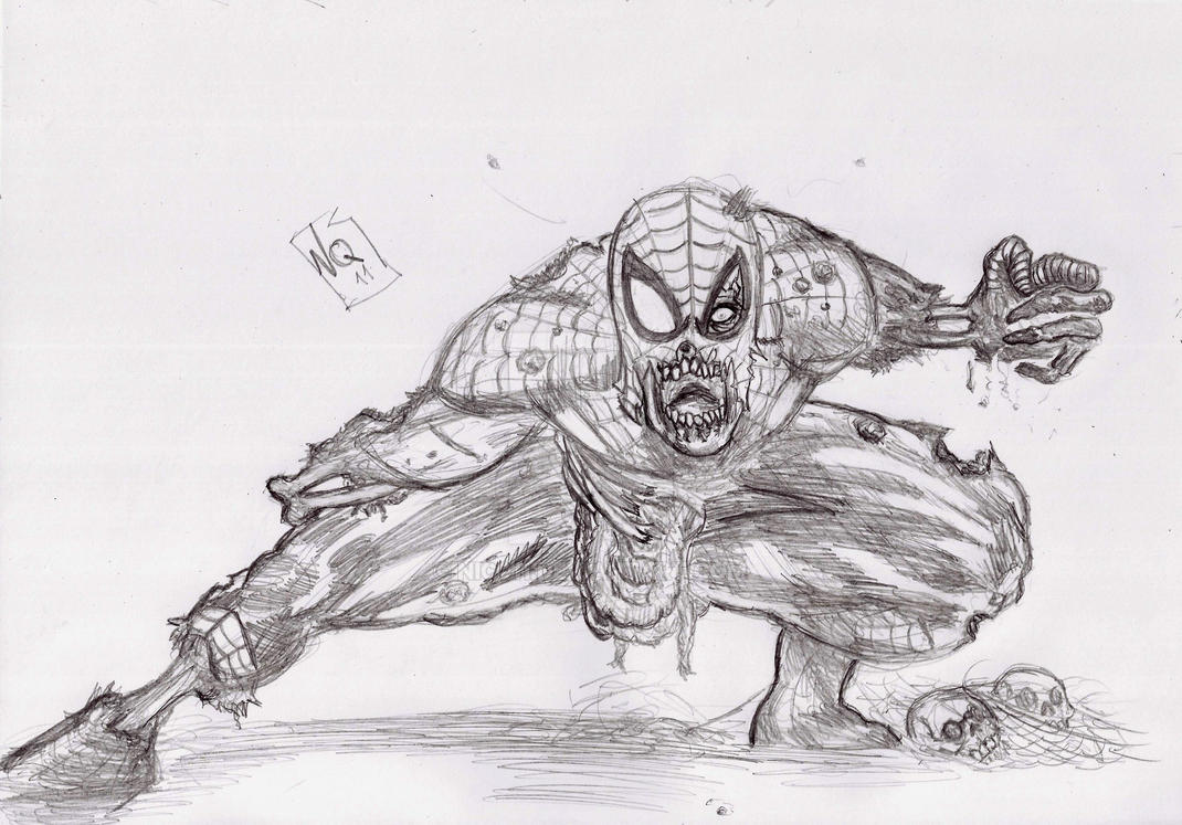 Spiderman Zombi by nic011