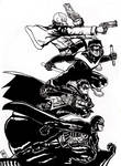 The Robins ink