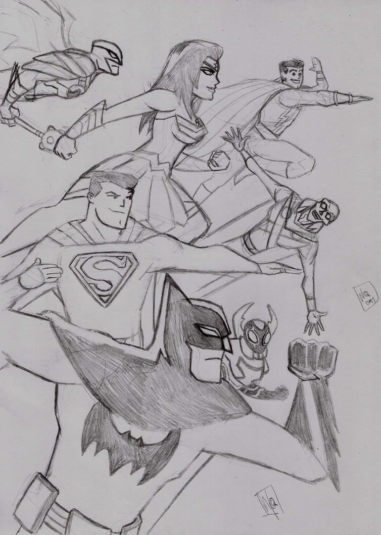 Justice league action! by nic011