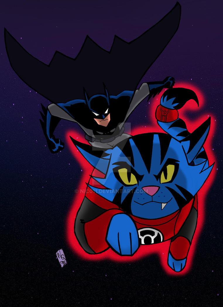 Justice League Action Batman Dexxtar Color part 1 by nic011