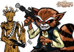 Han Roket And Chewgroot Color