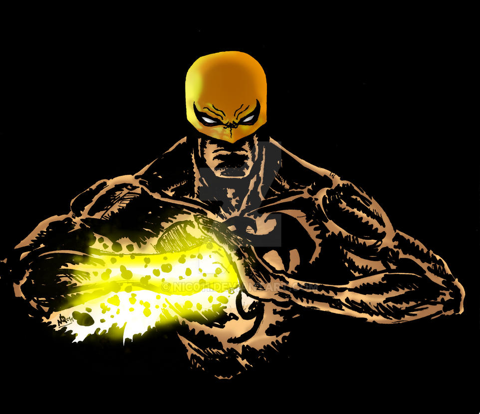 Iron Fist quick sketch by nic011