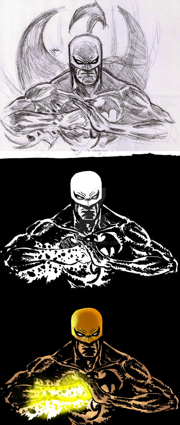 Iron Fist Proces by nic011