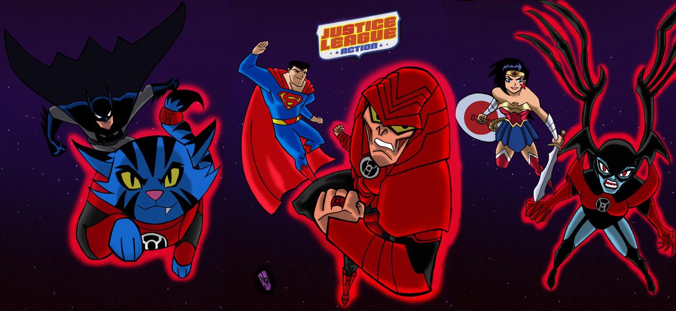 Justice League Action rage of the redlanters by nic011