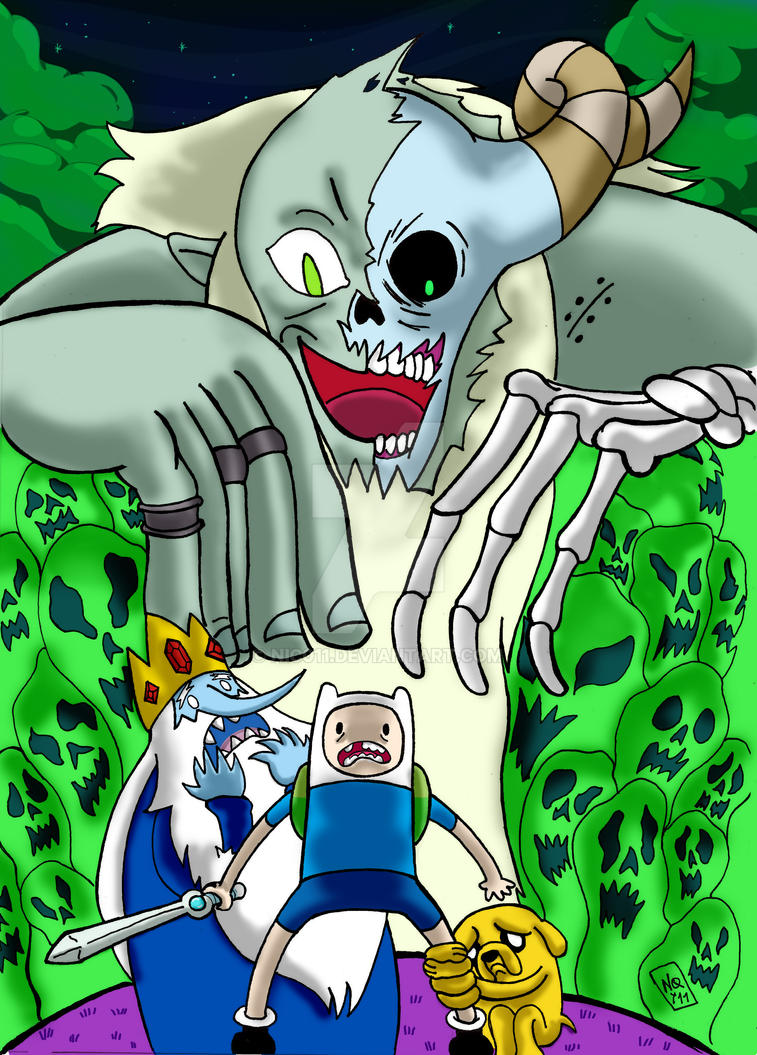 Adventure Time The Lich by nic011