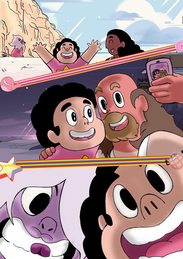 Steven Universe selfies by nic011