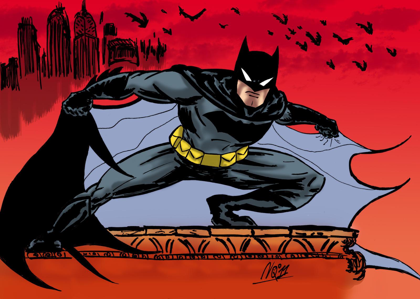Batman Dccu Color by nic011