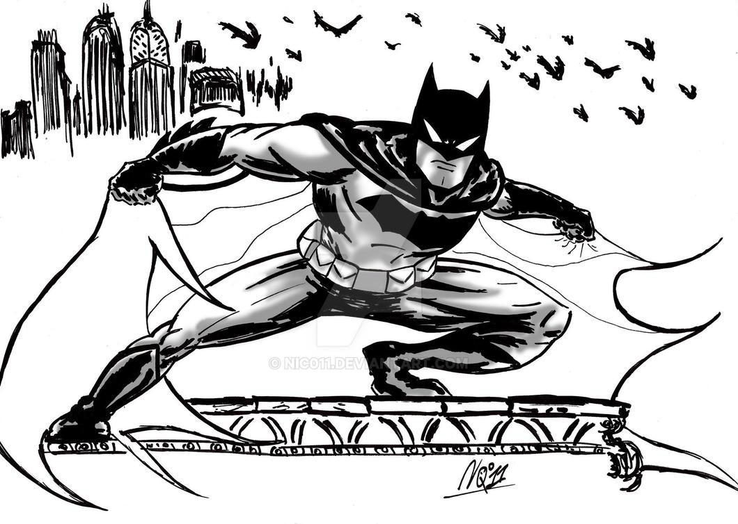 batman ink by nic011