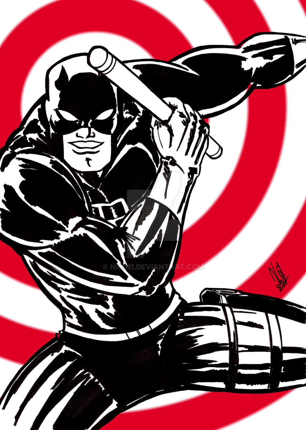 daredevil ink by nic011
