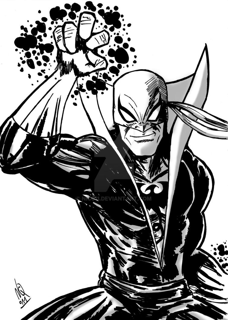 iron fist inks by nic011