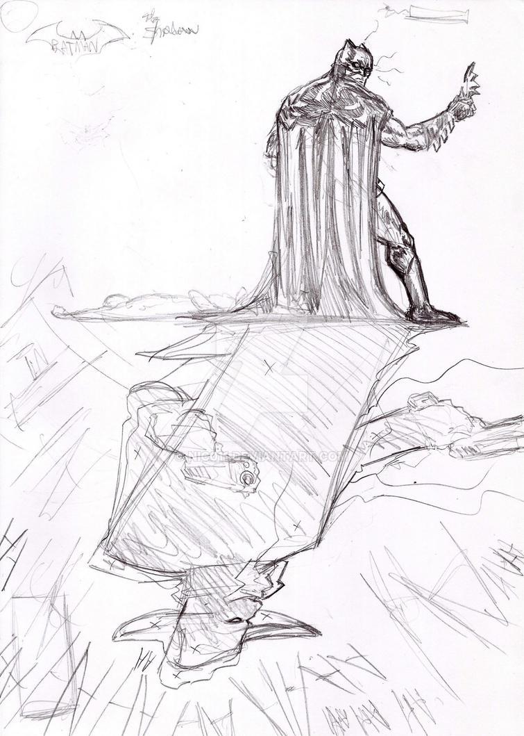 Batman The Shadow by nic011