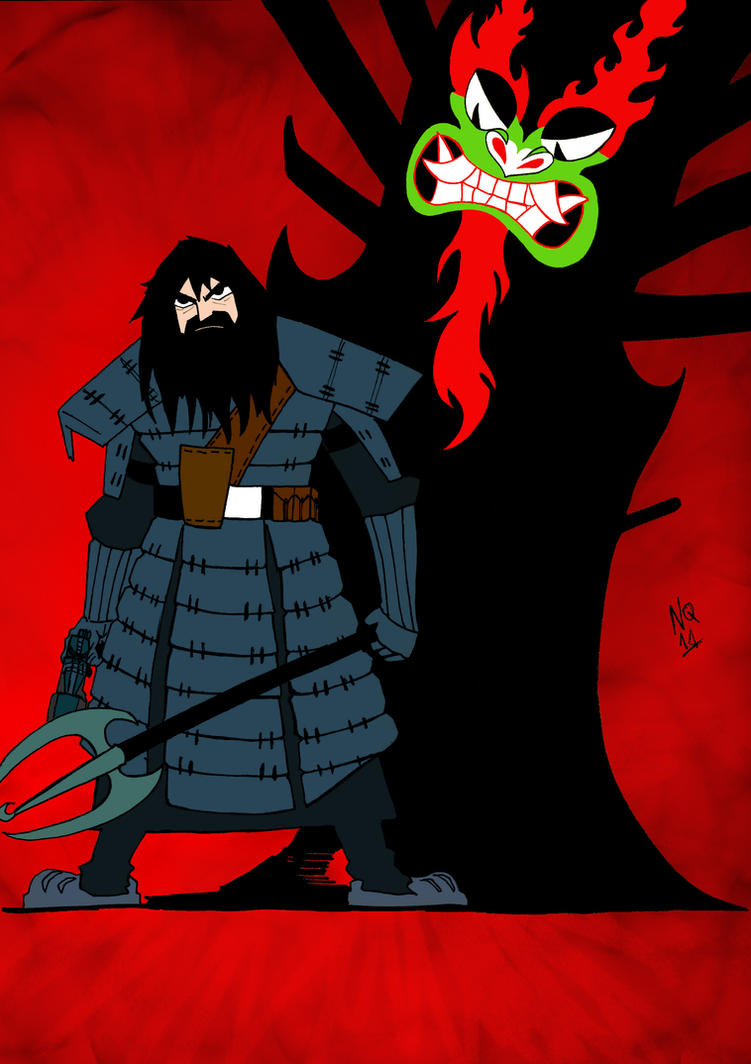 Samurai Jack colored by nic011